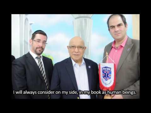 Former Director of the Mossad, Major General Meir Dagan, visits United Hatzalah Headquarters