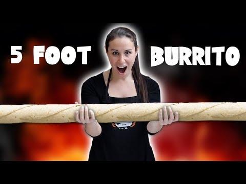 5 FOOT LONG BURRITO