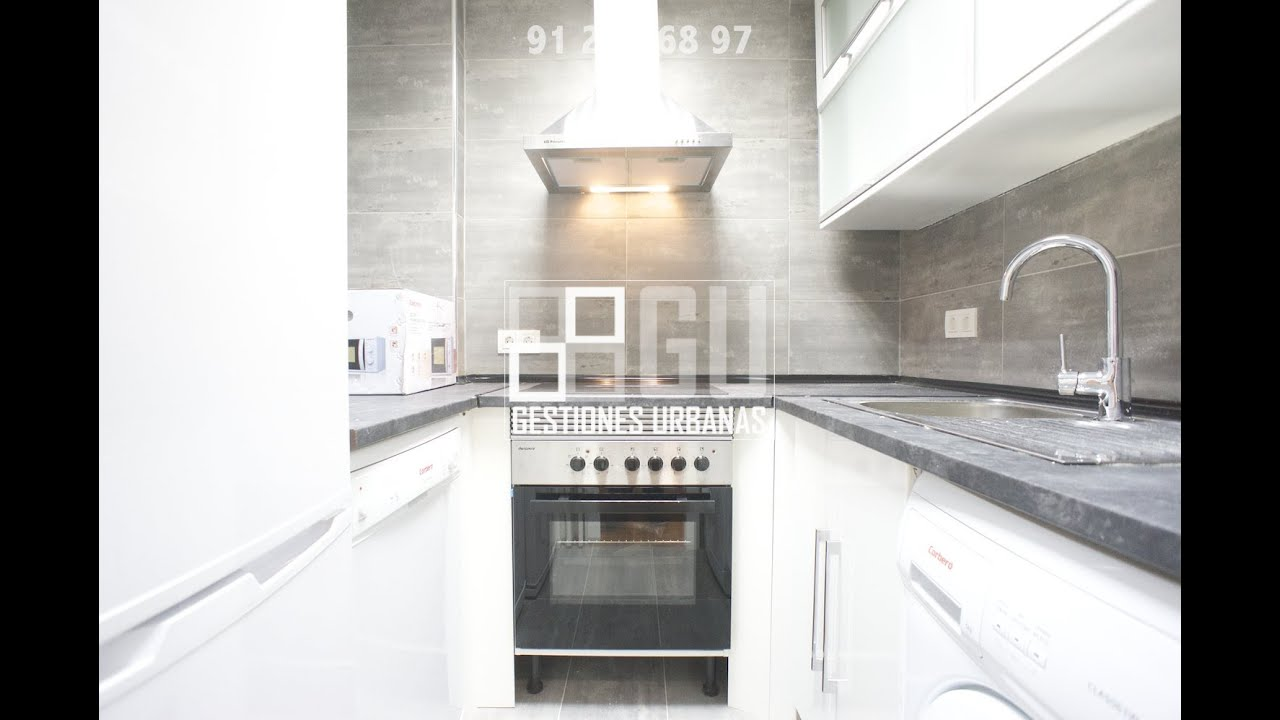 M 42 00092 alquiler piso madrid barrio salamanca reformado 2 dormitorios youtube - Alquiler piso humanes de madrid ...