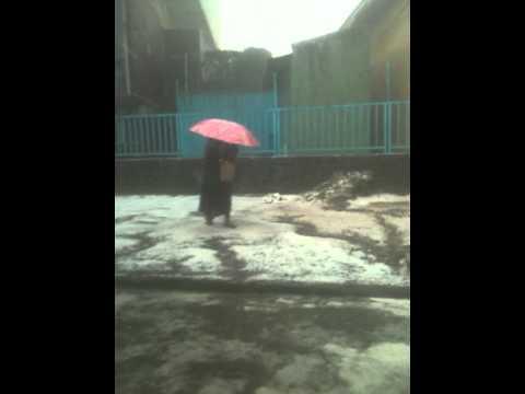 hail storm Addis Abeba