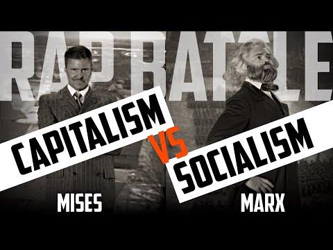 The March Of History: Mises Vs. Marx - The Definitive Capitalism Vs. Socialism Rap Battle