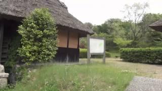 八塔寺ふるさと村 4 中国自然歩道休憩所 (岡山県備前市) Village in Bizen city Okayama prefecture