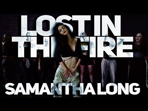 Lost In The Fire - Gesaffelstein Ft. The Weekend - Class/Choreography By Samantha Long