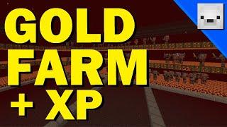 Minecraft Piglin Gold Farm | Fast Efficient XP Farm | 1.16