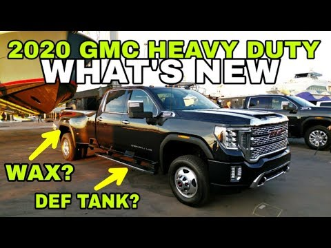 THE ONE TO WATCH! 2020 GMC Heavy Duty 2500HD and 3500HD ...