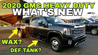 THE ONE TO WATCH! 2020 GMC Heavy Duty 2500HD and 3500HD Duramax Pickups!