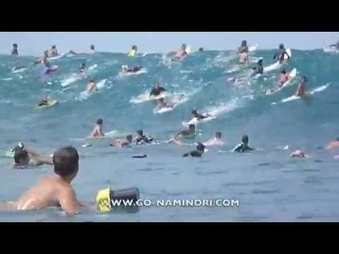 surfing-hawaii:-big-pipeline-first-swell!-[ハワイ:パイプライン]