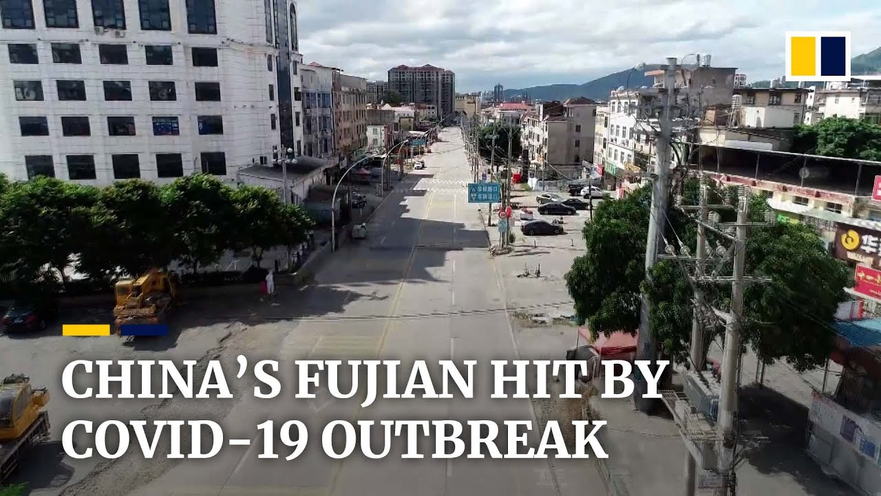 New Covid19 outbreak in Chinas Fujian province appears to be linked to Delta variant