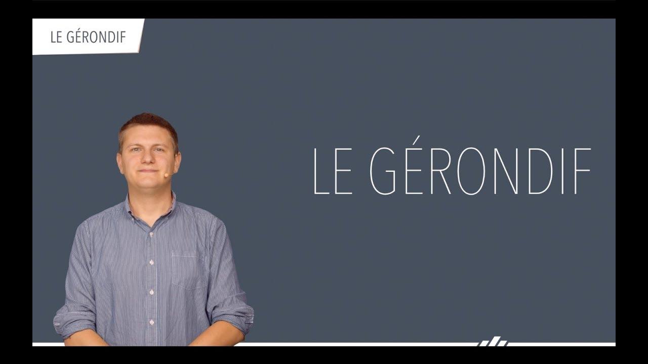 Download Le gérondif (Conjugaison française - Grammaire)