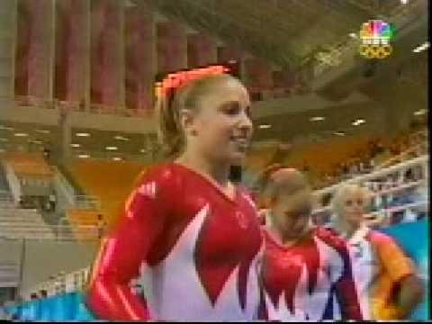 Courtney Kupets 2004 Olympics Qualifications Vault (USA)