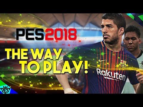 [TTB] PES 2018 - Barcelona vs Liverpool - The Way To Play! - Goals & Chances!