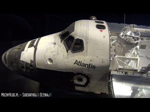NASA Kennedy Space Center - Cape Canaveral Florida - Space Shuttle Atlantis - USA VLOG 11