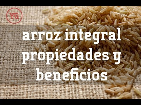 Beneficios del Arroz Integral, prepararación