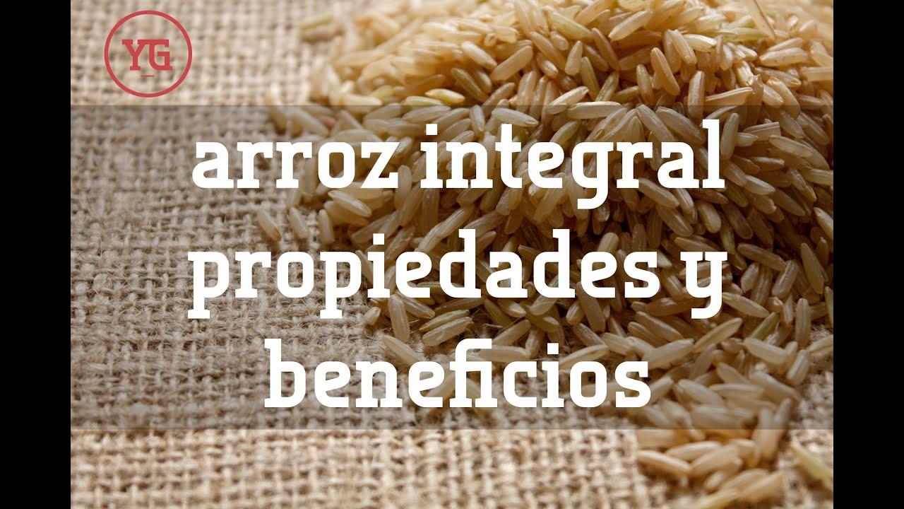 beneficios del arroz integral  prepararaci u00f3n