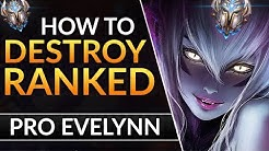 The ULTIMATE EVELYNN GUIDE: BEST Tips to CARRY - Ability Combos and Tricks | LoL Challenger Guide