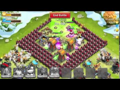 How To Level Up Your Heroes Fast In Castle Clash 2