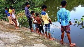 Best Hook Fishing Videos।Kids fishing (Part- 168)