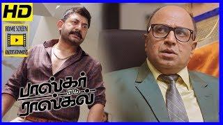 Bhaskar Oru Rascal Climax Scene | Bhaskar Oru Rascal Scenes | Aftab's dad kidnaps Nainika & Raghavan