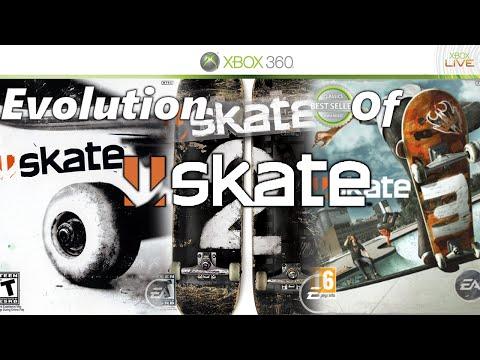 Evolution Of Skate - Skate 3, Skate 2, Skate 1 And Skate IT!