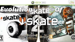 Evolution Of Skate - Skate 3, Skate 2, Skate 1 And Skate IT!