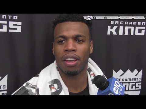Buddy Hield Sacramento Kings Media Interview