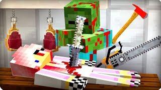 💀Он съест мою сестру [ЧАСТЬ 24] Зомби апокалипсис в майнкрафт! - (Minecraft - Сериал)