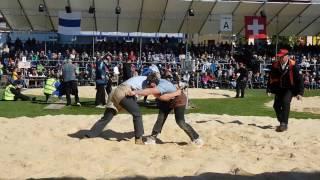 【スイスのイベント】スイス式相撲大会 Zuger Kantonale Schwingfest in Baar