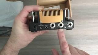 ThePedalGuy Unboxes the Hotone Nano Legacy Mojo Diamond Amp