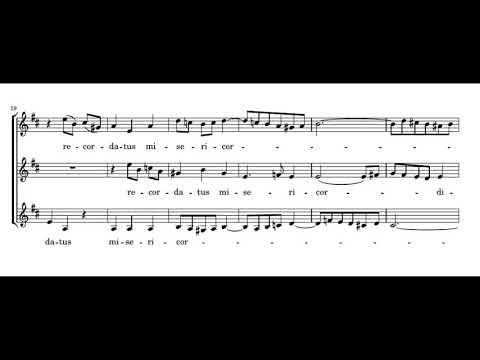 Bach: Magnificat - 10. Suscepit Israel - With Score