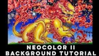 البرنامج التعليمي: كيفية إنشاء السلس خلفية متدرجة مع Caran د'Ache Neocolor الثاني