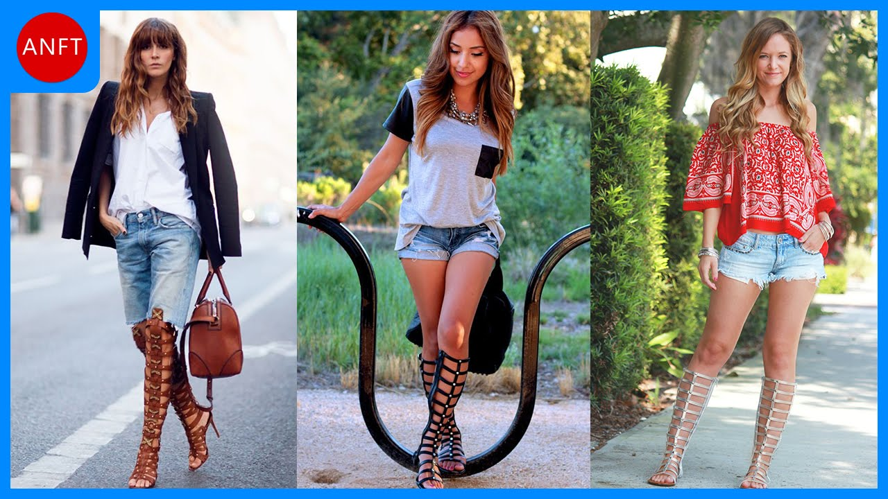 How to Wear Gladiator Sandals - Fashion Inspirations - YouTube