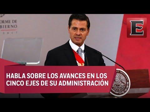 Peña Nieto ofrece su Quinto Informe de Gobierno en Palacio Nacional