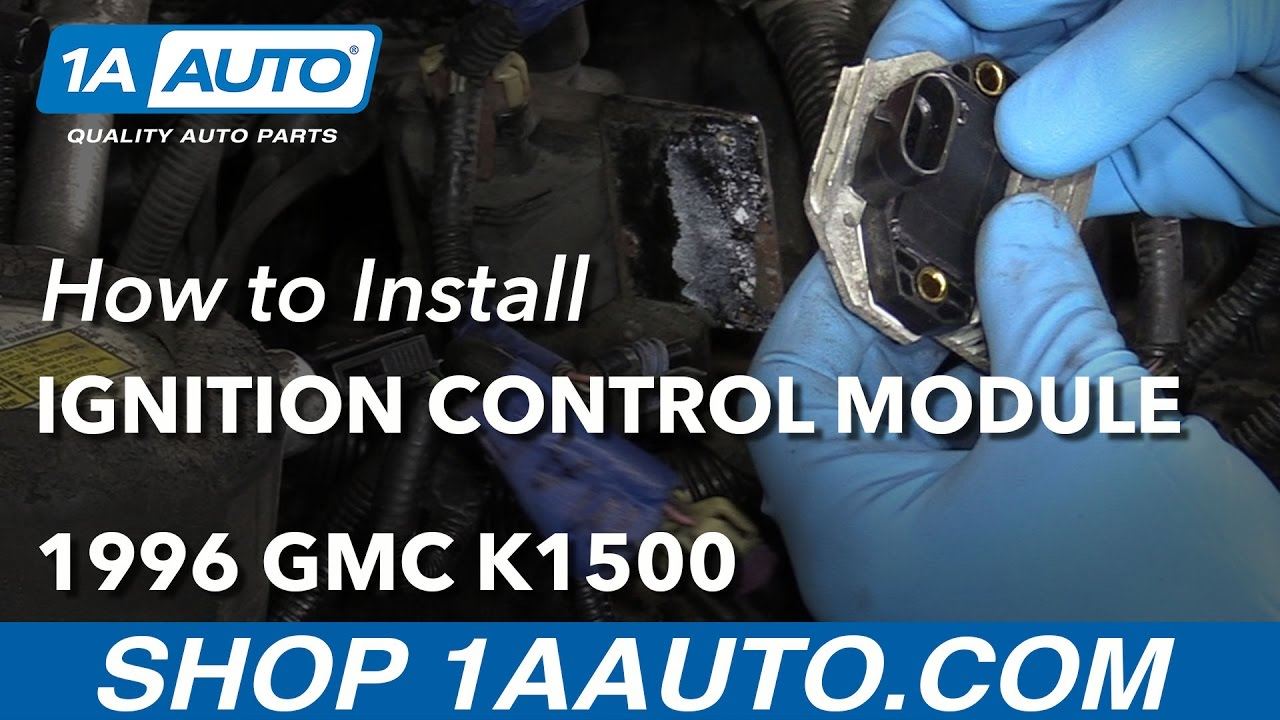 how to replace ignition control module 96 99 gmc k1500 [ 1280 x 720 Pixel ]