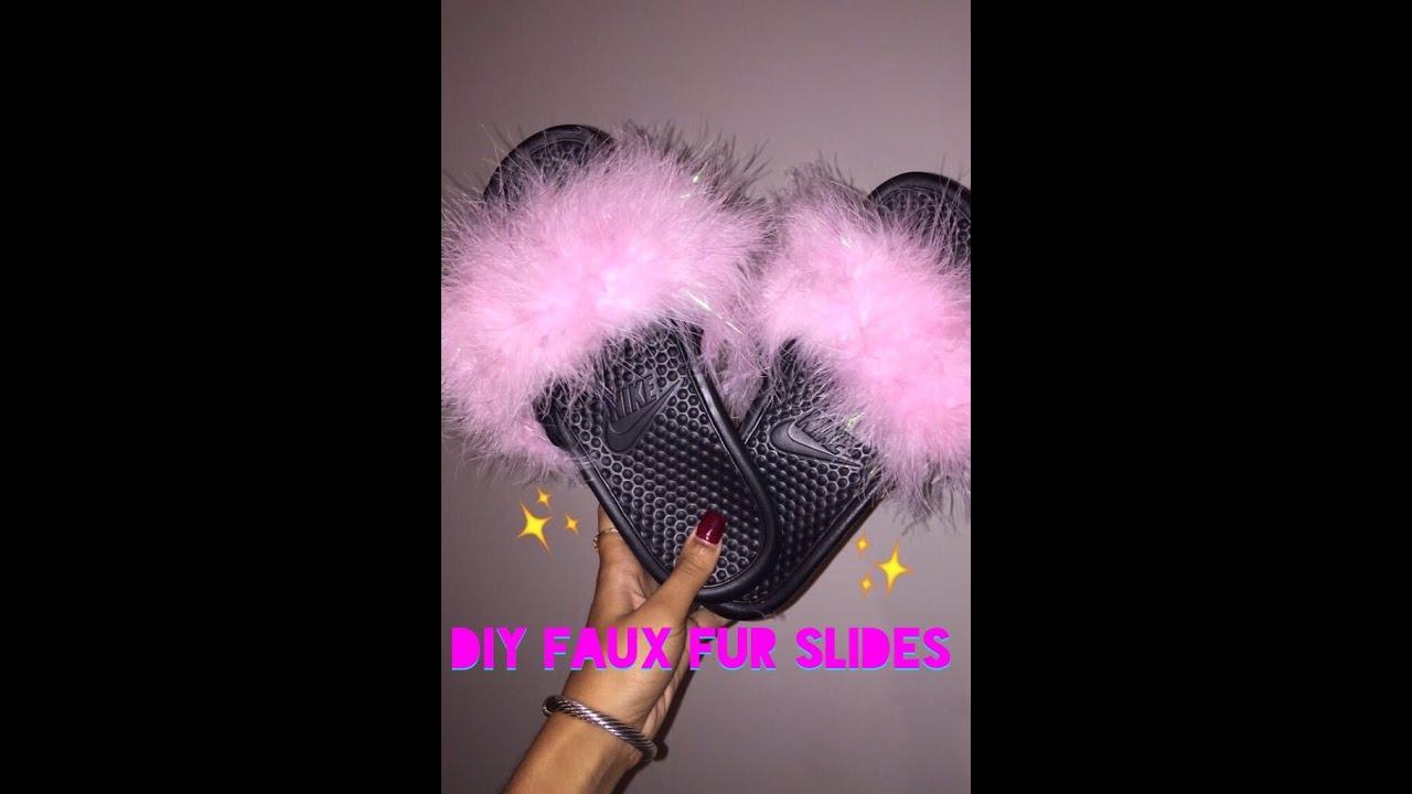 Diy Nike Slides