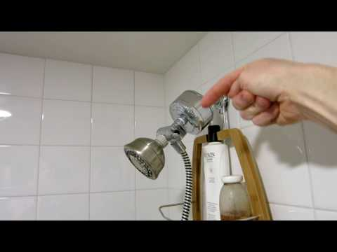 How To Increase Your Shower Water Pressure!!