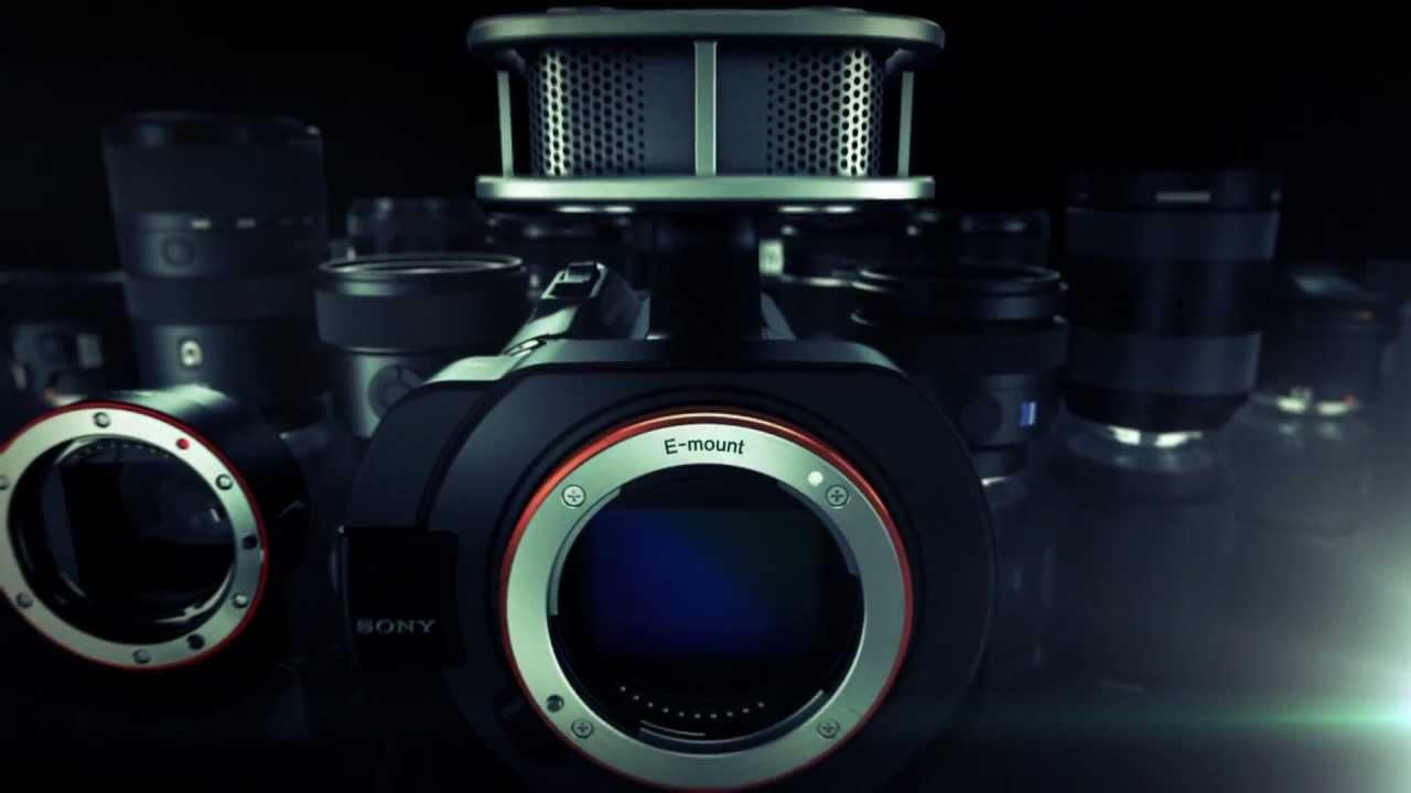 Sony NEX-VG900: Full-Frame Interchangeable Lens Camcorder - YouTube