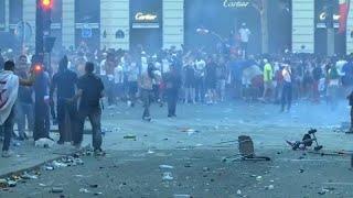 بالفيديو والصور .. تعرف إلى خسائر الشعب الفرنسي نتيجة الاحتفال بكأس العالم