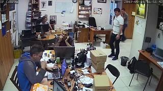 Фрагмент записи видео с камеры Link B01TW-8G