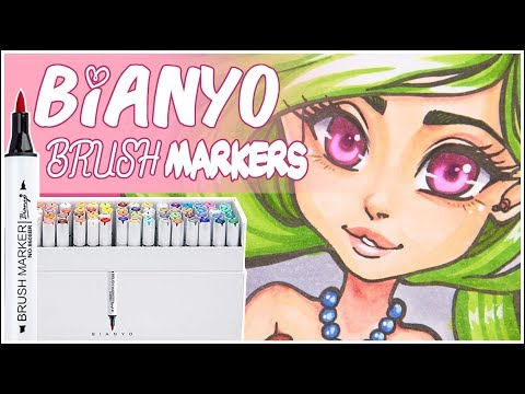 Bianyo Brush Marker Review - Copic Alternatives?