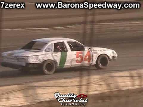 Pure Stock Heat 2 Barona Speedway 9-9-2017