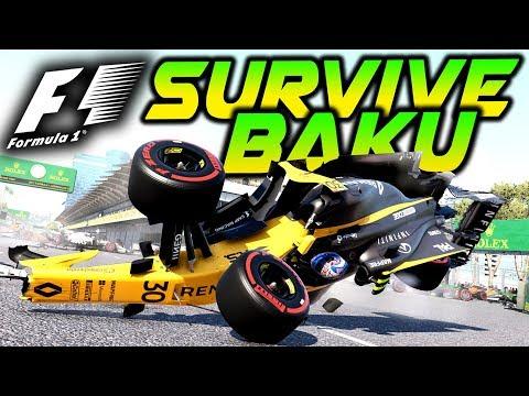 SURVIVE BAKU - Extreme Damage Mod F1 Game Keyboard Challenge