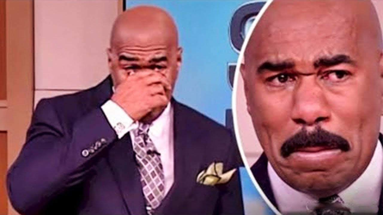 Got'em! Devastated Steve Harvey Boohoos, Show Cancelled After Reckless Comments About Poor Peop