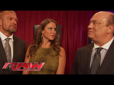 "Paul Heyman discusses a ""Plan C"" for WWE Battleground: Raw, July 14, 2014"