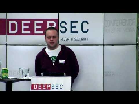 DeepSec 2010 Passwords in the wild by  Ron Bowes