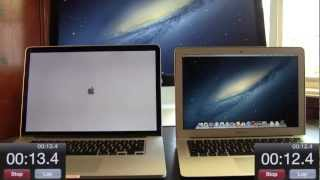 NEW Retina MacBook Pro vs. 2012 MacBook Air_ Benchmark And Speed Tests