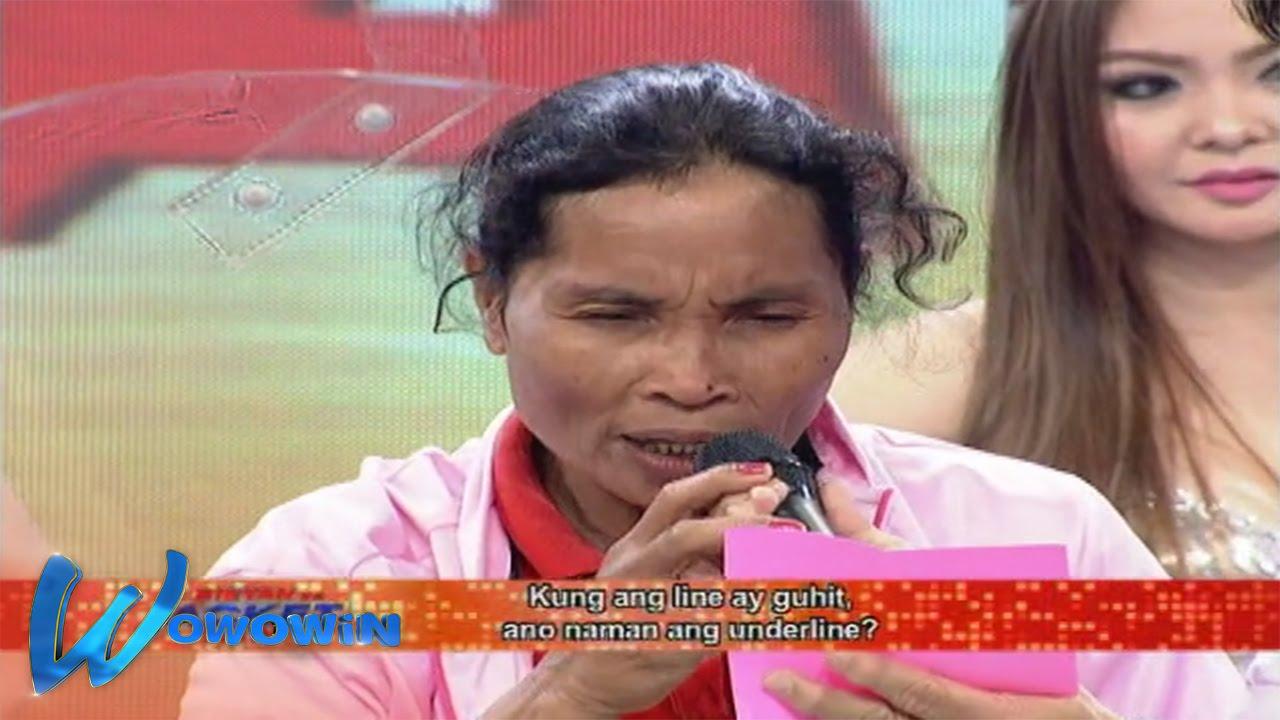 Wowowin: Ano ang tagalog ng underline?