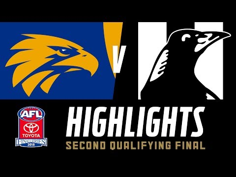 West Coast V Collingwood Highlights | Qualifying Final, 2018 | AFL