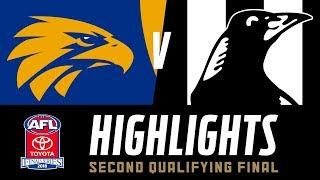 West Coast v Collingwood Highlights | Qualifying Final, 2018 | AFL