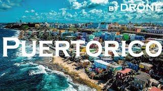 【世界一カラフルなスラム】レゲトンの聖地🇵🇷プエルトリコをドローンで空撮🌐68カ国目