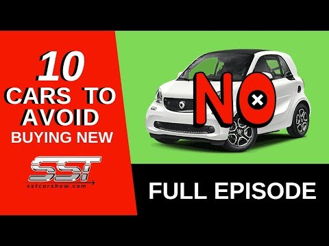 10 Cars To Avoid Buying New
